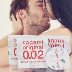 Bao cao su Sagami Original 0.02 Quick mỏng nhất hành tinh