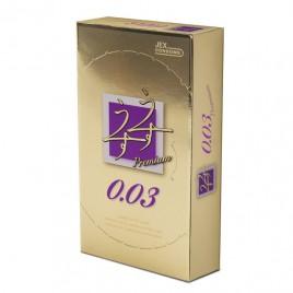 Bao Cao Su Jex Premium 0.03 Nóng & Lạnh, Hương Bạc Hà