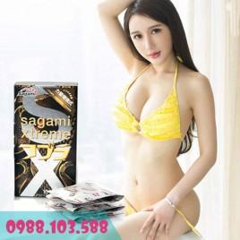 Bao cao su Sagami Xtreme Cobra - Rắn hổ mang vàng