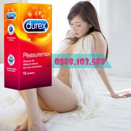 Bao cao su Durex Pleasure Max gai bong bóng nổi toàn thân