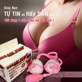 Đồ Chơi Tình Dục Máy massage nở ngực Breast Pump