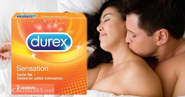 Bao cao su Durex Sensation 1