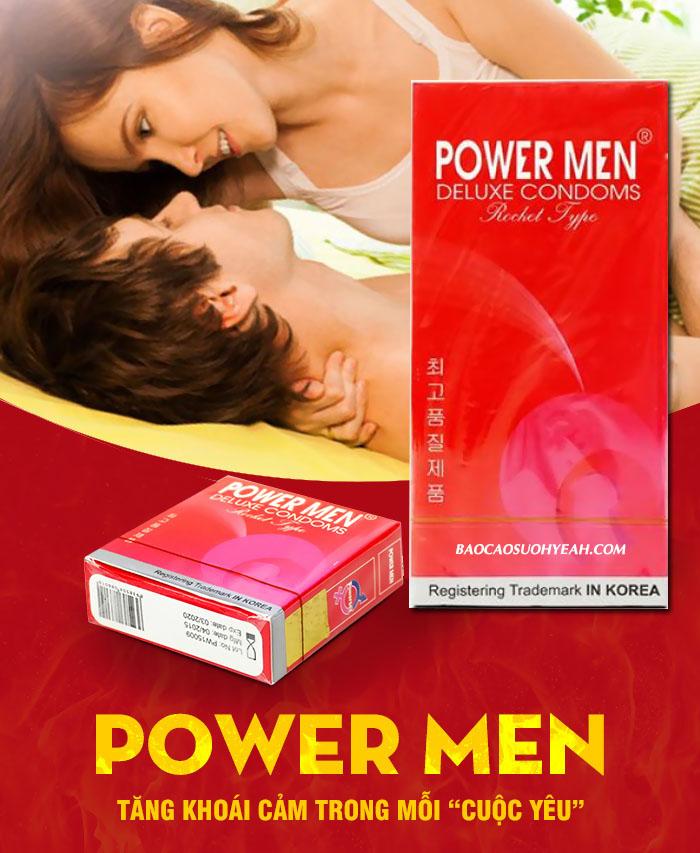 bao cao su Powermen Rocket 1